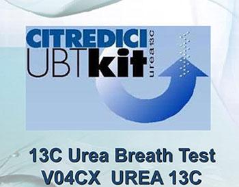Citredici Urea Breath Test KIT